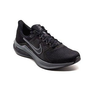 Tênis Esportivo Nike Downshifter 11 Masculino Preto e Cinza