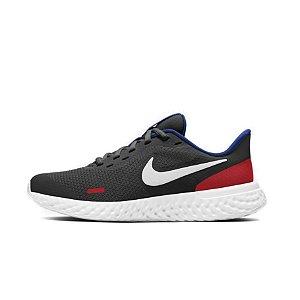 Tênis Esportivo Nike Revolution 5 GS Infantil Unissex Preto