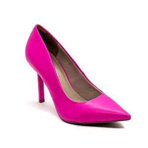 Sapato Scarpin Via Marte Feminino Magenta