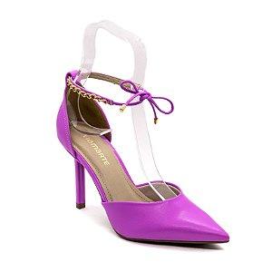 Sapato Scarpin Via Marte Feminino Violeta