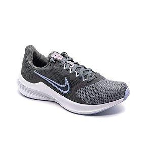 Tênis Esportivo Nike Downshifter 11 Feminino Cinza