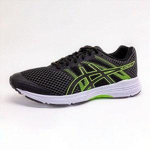 Tênis Esportivo Asics Gel‑Exalt 5 Masculino Preto/Verde