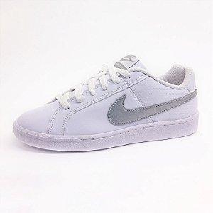 Tênis Esportivo Nike Court Royale Feminino Branco