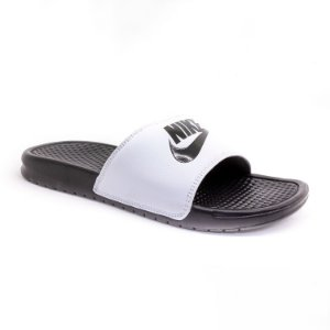 Chinelo Nike Masculino Preto e Branco