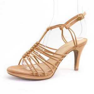 Sandália Salto Fino Lu Rezende Feminina Antique