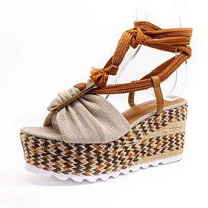 Sandália Plataforma Lu Rezende Feminina Futon