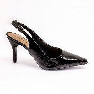 Sapato Chanel Lu Rezende Feminino Preto