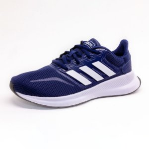 Tênis Esportivo Infantil Adidas Runfalcon Masculino Azul
