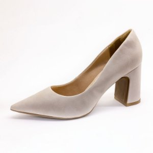Sapato Scarpin Lumman Feminino Off White