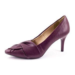 Sapato Scarpin Villarosa Feminino Vinho