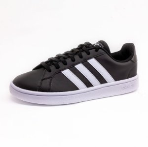 Tênis Casual Adidas Grand Court Base Feminino Preto