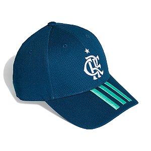 Boné Adidas Baseball CR Flamengo 2 Unissex Azul