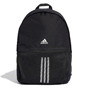 Mochila Esportiva Adidas Classic 3-Stripes Unissex Preta