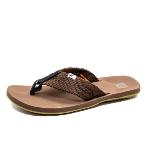 Chinelo Casual Kenner Elastic Masculino Marron