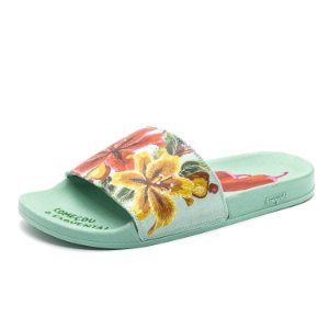 Chinelo Slide FARM Feminino Azul