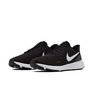 Tênis Esportivo Nike Revolution 5 Icon Clash Feminino Preto