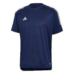 Camisa Adidas Condivo 20 Training Jersey Masculino Azul