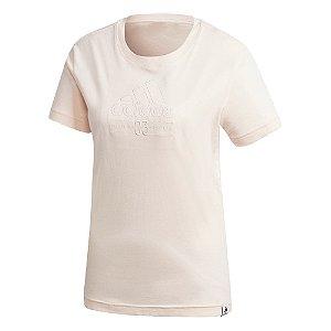 Camisa Adidas Brilliant Basic Feminina Rosa