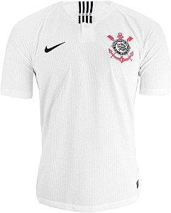 Camisa Oficial Nike S.C. Corinthians 2018/19 Masculina Branca