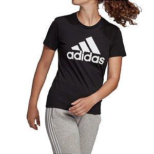 Camisa Adidas Essentials Feminina Preta