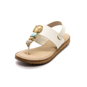Sandália Plataforma Modare Feminina Branca