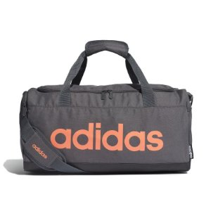 Bolsa Esportiva Adidas Preto e Laranja
