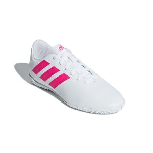 Chuteira Futsal Infantil Adidas Nemeziz Tango 18.4 Masculina Branca