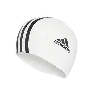 Touca Adidas Silicone 3S Unissex Branca