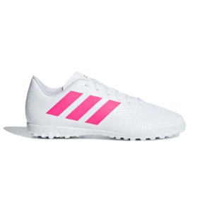Chuteira Society Adidas Nemeziz Tango 18.4 Masculino Infantil Branca