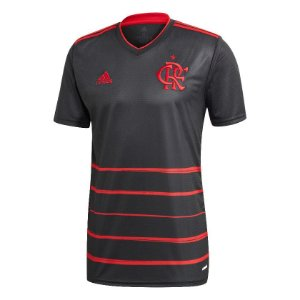 Camisa Adidas Flamengo III Oficial Masculina Preta