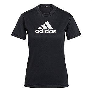 Camisa Adidas Primeblue Designed 2 Move Feminina Preta