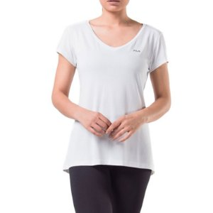 Blusa Fila Dots II Feminina Branca