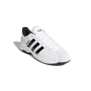 Tênis Esportivo Adidas Pro Model 2G Low Masculino Branco