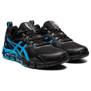 Tênis Esportivo Asics Gel Quantum 180 Masculino Preto e Azul