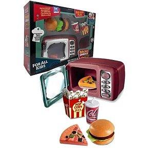Micro-ondas De Brinquedo Sandwich Chef -zuca Toys
