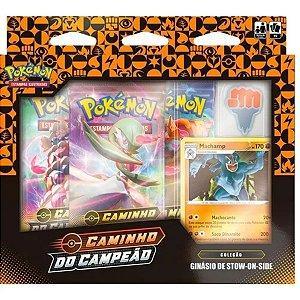 Pokémon Box Caminho Do Campeão Machamp Stow-on-side Copag