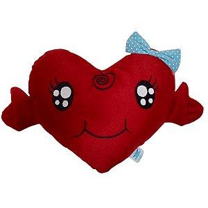 Pelúcia Coração Doçura Vermelho - Cortex