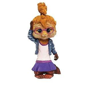 Mini Figura Alvin E os Esquilos Jeanette - Bbr