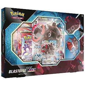 Box Pokémon Vmax Blastoise - Copag