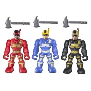 Bonecos Work Force Conjunto 3 - Bs Toys