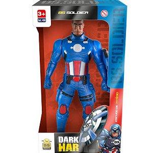 Boneco Bs Soldier Dark War - Bs Toys