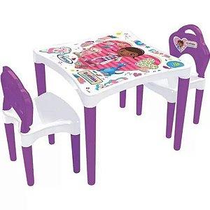 Mesa Com Cadeiras Dra. Brinquedos - Xalingo