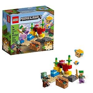 Minecraft O Recife De Coral - Lego