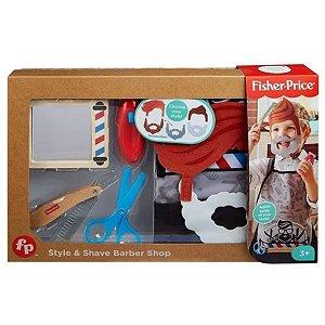 Conjunto Fisher Price Brincando De Barbearia - Mattel