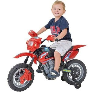 Moto Elétrica Infantil 6V Motocross - Xplast