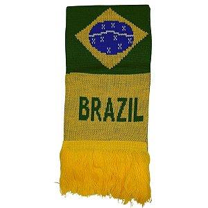 Kit Com Touca E Cachecol Brasil - Classe