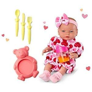 Boneca Babies Primeira Comidinha - Roma