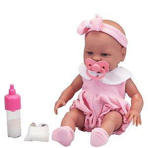 Boneca Babies Primeira Mamadeira - Roma