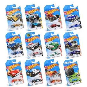 kit 12 Carrinhos Hot Wheels Sortidos 1/64 Mattel C4982