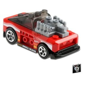 Carrinho Custom Small Block Hot Wheels - Mattel